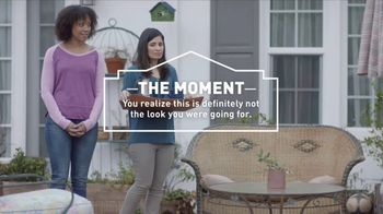 Lowe's TV Spot, 'The Moment: Patio Furniture and Outdoor Décor' - 262 commercial airings