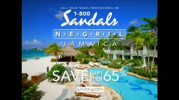 Sandals Negril TV Spot, 'Go Native in Style' - Thumbnail 10