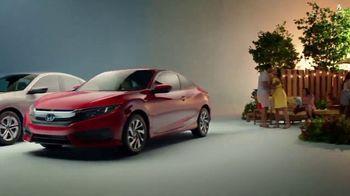 Honda Celebración de Verano TV Spot, '2017 Civic LX Sedan' [Spanish] [T2] - Thumbnail 5