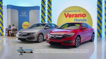 Honda Celebración de Verano TV Spot, '2017 Civic LX Sedan' [Spanish] [T2] - Thumbnail 8