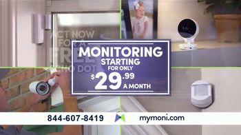 MONI Smart Security TV Spot, 'Connected System: Amazon Echo Dot' - Thumbnail 8