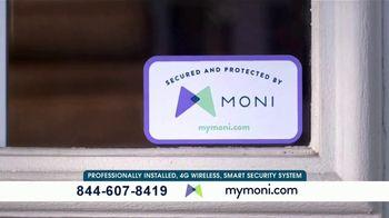MONI Smart Security TV Spot, 'Connected System: Amazon Echo Dot' - Thumbnail 4