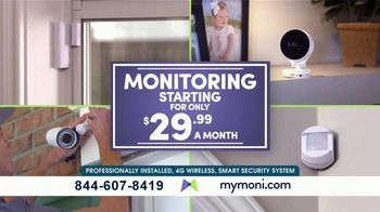 MONI Smart Security TV Spot, 'Connected System: Amazon Echo Dot' - Thumbnail 5