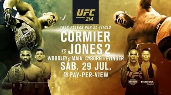 UFC 214 TV Spot, 'Cormier vs. Jones 2' [Spanish] - 55 commercial airings