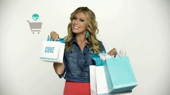 QVC Super Saturday Live TV Spot, 'Shopping for a Cure' Feat. Jill Martin