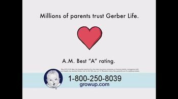 Gerber Life Grow-Up Plan TV Spot, 'Financial Stability' - Thumbnail 5