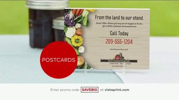 Vistaprint Semi-Annual Sale TV Spot, 'Cards, T-Shirts and Signs' - Thumbnail 4