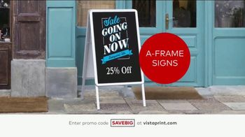 Vistaprint Semi-Annual Sale TV Spot, 'Cards, T-Shirts and Signs' - Thumbnail 5