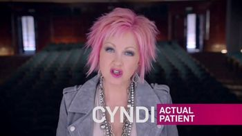 COSENTYX TV Spot, 'Clear Skin Can Last 2' Featuring Cyndi Lauper - Thumbnail 2