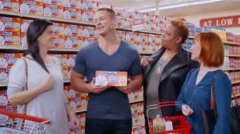 Hefty Ultra Strong TV Spot, 'Waiting Husbands' Featuring John Cena