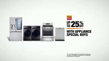 The Home Depot TV Spot, 'Something New in Appliances' - Thumbnail 7