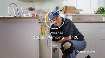 Thumbtack TV Spot, 'From Plans to Plumber' - Thumbnail 5
