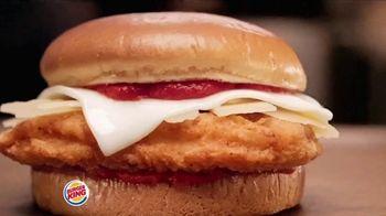 Burger King Chicken Parmesan TV Spot, 'Arrivederci to Hunger' - Thumbnail 2