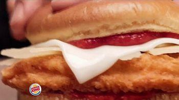 Burger King Chicken Parmesan TV Spot, 'Arrivederci to Hunger' - Thumbnail 5
