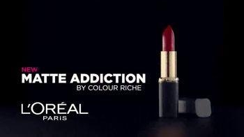 L'Oreal Paris Matte Addiction TV Spot, 'Lush Comfort' - Thumbnail 3