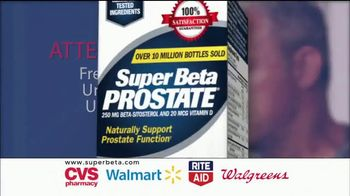 Super Beta Prostate TV Spot, 'Clinically Tested Ingredients'