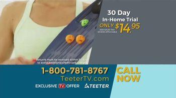 Teeter Hang Ups TV Spot, 'Recline and Relax' - Thumbnail 9