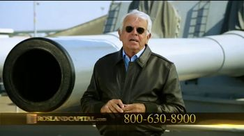 Rosland Capital TV Spot, 'Safer With Gold' Featuring William Devane - Thumbnail 3