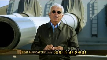 Rosland Capital TV Spot, \'Safer With Gold\' Featuring William Devane