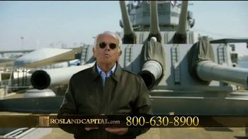 Rosland Capital TV Spot, 'Safer With Gold' Featuring William Devane - Thumbnail 6