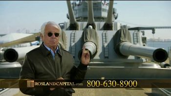 Rosland Capital TV Spot, 'Safer With Gold' Featuring William Devane - Thumbnail 7