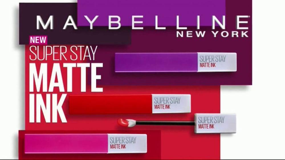 Maybelline New York Superstay Matte Ink Liquid Lipstick Tv