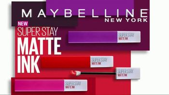 Maybelline New York SuperStay Matte Ink Liquid Lipstick TV Spot, 'Intense'