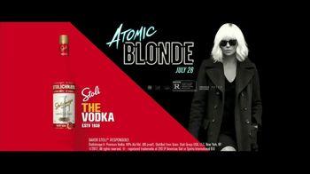 Stolichnaya TV Spot, 'The Vodka of Atomic Blonde'