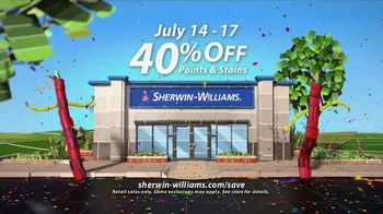 Sherwin-Williams 4-Day Super Sale TV Spot, 'July 2017' - Thumbnail 9