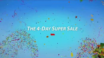 Sherwin-Williams 4-Day Super Sale TV Spot, 'July 2017'