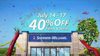Sherwin-Williams 4-Day Super Sale TV Spot, 'July 2017' - Thumbnail 4