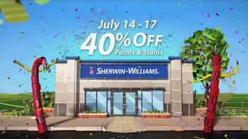 Sherwin-Williams 4-Day Super Sale TV Spot, 'July 2017' - Thumbnail 5