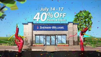 Sherwin-Williams 4-Day Super Sale TV Spot, 'July 2017' - Thumbnail 6