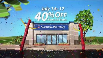 Sherwin-Williams 4-Day Super Sale TV Spot, 'July 2017' - Thumbnail 7