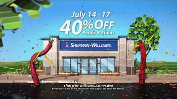 Sherwin-Williams 4-Day Super Sale TV Spot, 'July 2017' - Thumbnail 8