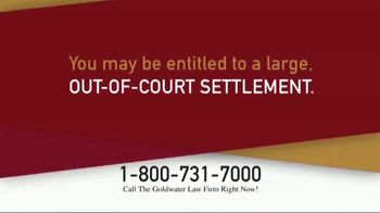 Goldwater Law Firm TV Spot, 'Roundup Linked to Non-Hodgkin's Lymphoma' - Thumbnail 3