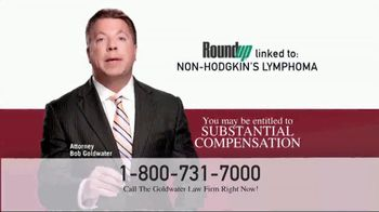 Goldwater Law Firm TV Spot, 'Roundup Linked to Non-Hodgkin's Lymphoma' - Thumbnail 4