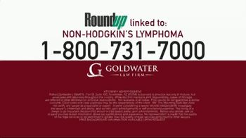 Goldwater Law Firm TV Spot, 'Roundup Linked to Non-Hodgkin's Lymphoma' - Thumbnail 5