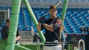 T-Mobile Unlimited TV Spot, 'The Nickname' Featuring Giancarlo Stanton - Thumbnail 5