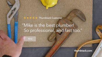Thumbtack TV Spot, 'Plans to Plumber' - Thumbnail 7