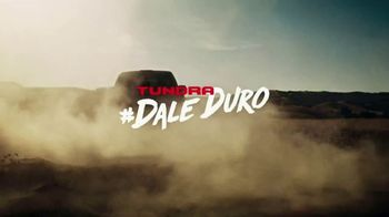 Toyota Tundra TV Spot, 'Dale Duro: Pour Your Soul' [T1] - 1 commercial airings