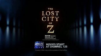 DIRECTV Cinema TV Spot, 'The Lost City of Z' - Thumbnail 6