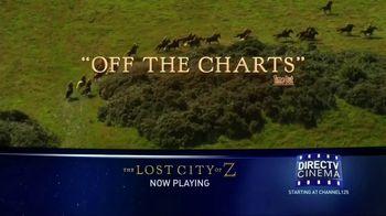 DIRECTV Cinema TV Spot, 'The Lost City of Z' - Thumbnail 3
