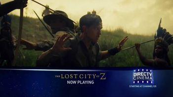 DIRECTV Cinema TV Spot, 'The Lost City of Z' - Thumbnail 5