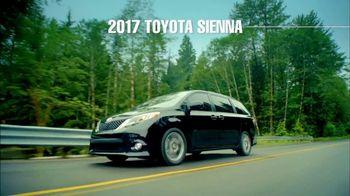 2017 Toyota Sienna TV Spot, 'Time for Life: Cash Back' [T2] - Thumbnail 1