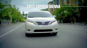 2017 Toyota Sienna TV Spot, 'Time for Life: Cash Back' [T2] - Thumbnail 2