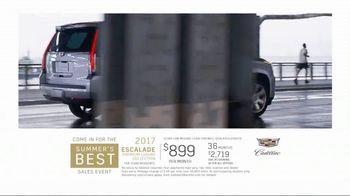 Cadillac Summer's Best Sales Event TV Spot, 'Escalade' [T2] - Thumbnail 10