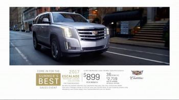 Cadillac Summer's Best Sales Event TV Spot, 'Escalade' [T2] - Thumbnail 9