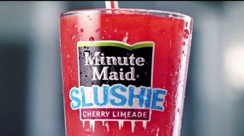 McDonald's Minute Maid Slushies TV Spot, 'Totalmente refrescante' [Spanish] - Thumbnail 1