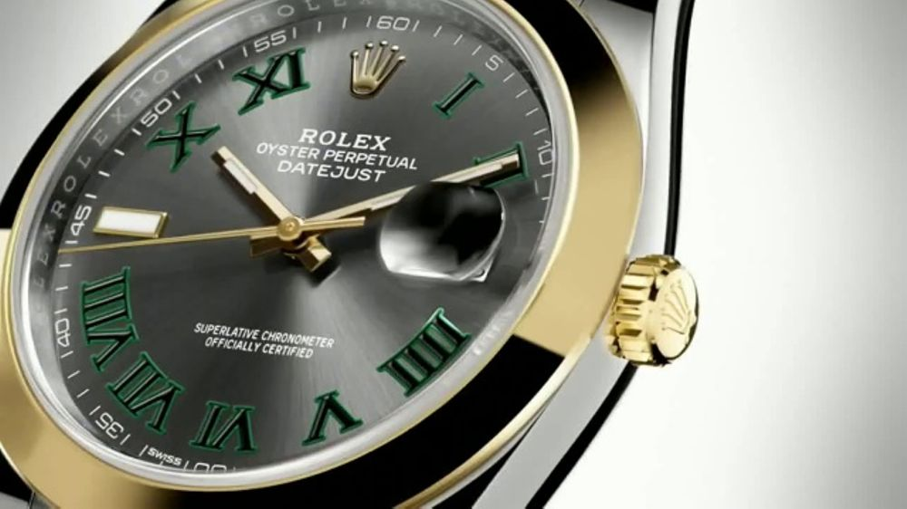 d3dbd40780a Rolex Oyster Perpetual Datejust 41 TV Commercial